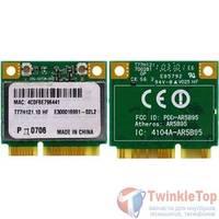 Модуль Wi-Fi 802.11b/g Half Mini PCI-E - FCC ID: PPD-AR5B95