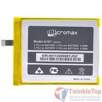 Аккумулятор для Micromax A107 Canvas Fire 3