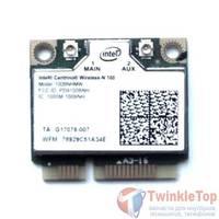 Модуль Wi-Fi 802.11b/g/n Half Mini PCI-E - Intel Centrino Wireless-N 100 (100BNHMW) Samsung N100SP (NP-N100S-N05)