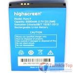 Аккумулятор для HIGHSCREEN PURE F / (6000 mAh)