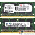 Оперативная память для ноутбука / DDR3 / 2Gb / 10600S / 1333 Mhz