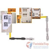 Шлейф / плата Huawei MediaPad 10 FHD (S10-101U) на SIM reader