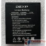 Аккумулятор для DEXP Ixion ES145 Life