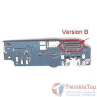 Шлейф / плата Asus ZenFone Max (ZC550KL) Version B на разъем питания
