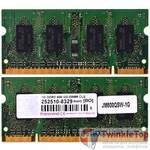 Оперативная память для ноутбука / DDR2 / 1Gb / 6400S / 800 Mhz