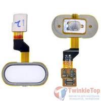 Шлейф / плата Meizu M3s mini на кнопку HOME / белый