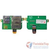 Шлейф / плата Lenovo IdeaTab A10-70 (A7600) LVP9 GS-227 REV:1.0 на SIM reader / (без шлейфа)