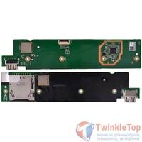 Шлейф / плата ASUS Eee Pad Transformer TF101 EP101-DKB DOCKING_R REV. 1.3G на SIM reader