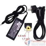 Зарядка 4,8x1,7mm / 18,5V / 65W 3,5A / HP ADP-65HB (yellow tip) (оригинал)