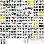 Набор разъемов питания для ноутбука (58 видов по 1 штуке)