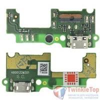 Шлейф / плата Huawei GR3 TAG-L21 на системный разъем / микрофон