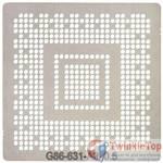 Трафарет для G86-631-A2 (8400M GS, 128 bit) / 0.5mm