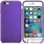 Чехол для Apple iPhone 6 Silicone Case фиолетовый