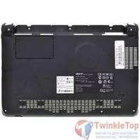 Нижняя часть корпуса ноутбука Acer Aspire one A110 (AOA110) (ZG5) / FOX3RZG5BSTN00080811-09 черный