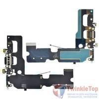 Шлейф / плата Apple iPhone 7 Plus на системный разъем / черный