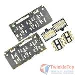 Разъем Nano-Sim+MicroSD 34-35mm x 16-17mm x 1,31mm Huawei Honor 7A (DUA-L22)