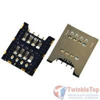 Разъем Micro-Sim 20-21mm x 16-17mm x 1,3mm Coolpad 8730L KA-104