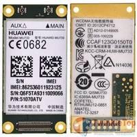 Модуль HSPA+ - FCC ID: QISMU733