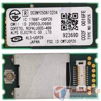 Модуль Bluetooth - FCC ID: CWTUGPZ6