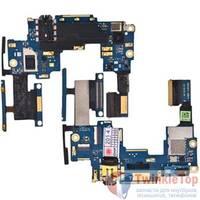 Шлейф / плата HTC One M7 801n PN07100 на аудио разъем