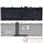 Клавиатура для MSI CR620 (MS-1681) черная с черной рамкой