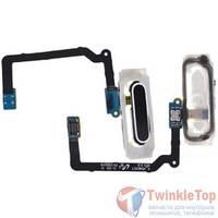 Шлейф / плата Samsung Galaxy S5 mini SM-G800H/DS на кнопку HOME / синий