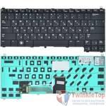 Клавиатура для Dell Latitude E4200 (PP15S) черная