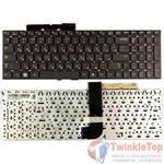 Клавиатура для Samsung RC530 черная без рамки
