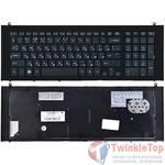 Клавиатура для HP ProBook 4720s черная с черной рамкой