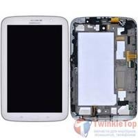 Модуль (дисплей + тачскрин) для Samsung Galaxy Note 8.0 N5100 (3G Wifi) белый с рамкой
