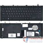 Клавиатура для HP ProBook 4420s черная с черной рамкой