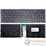 Клавиатура для MSI GE62 2QE черная с подсветкой