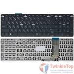 Клавиатура для HP ENVY 15-j черная без рамки