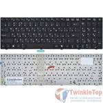 Клавиатура для MSI A6200 (MS-16811) черная с черной рамкой