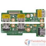 Шлейф / плата Asus Eee PC T101MT / 08G2011TT11C на USB