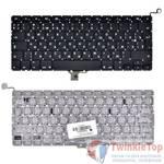 """Клавиатура для MacBook Pro 13"""" A1278 (EMC 2326) 2009 черная (Вертикальный Enter)"""