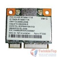 Модуль Wi-Fi 802.11b/g/n Half Mini PCI-E - Ralink RT3090