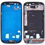 Рамка тачскрина Samsung Galaxy S III (S3) GT-I9300 / темно - синий