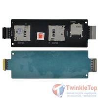 Шлейф / плата ASUS ZenFone 2 (ZE551ML) Z00A на SIM reader