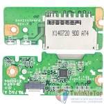 Шлейф / плата Acer Aspire E5-771 / DA0ZYVTH6F0 REV:F на Card Reader